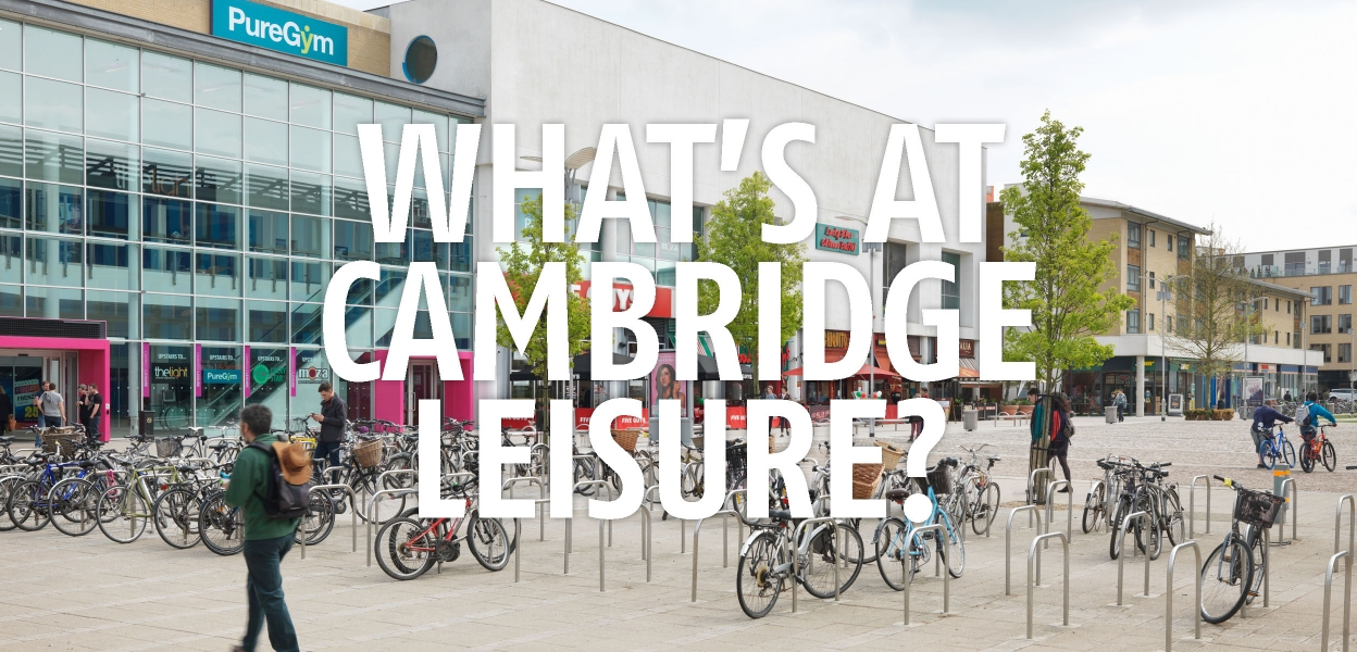 What's At Cambridge Leisure Homepage Banner