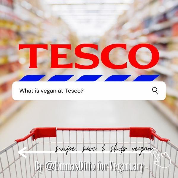 Tesco Veganuary